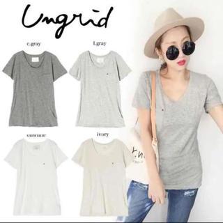 アングリッド(Ungrid)のUngrid BASIC Tee タイムセール 今日まで(Tシャツ(半袖/袖なし))