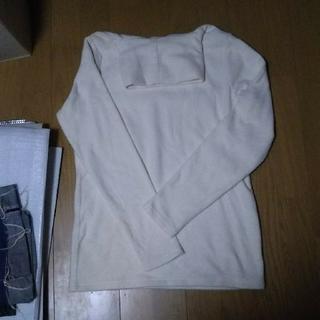 新品白と黒二枚セット売りタートル長袖(カットソー(長袖/七分))