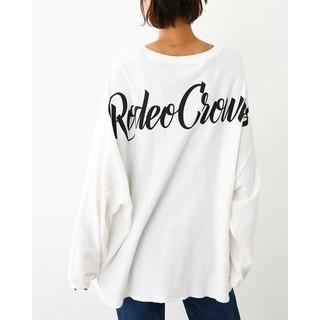 ロデオクラウンズワイドボウル(RODEO CROWNS WIDE BOWL)の新品タグつき ロデオクラウンズワイドボウルRCWB (Tシャツ(長袖/七分))