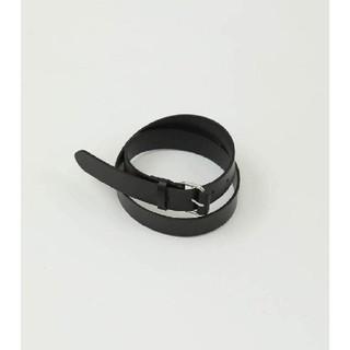 トゥデイフル(TODAYFUL)のTODAYFUL Leather Buckle Belt(ベルト)