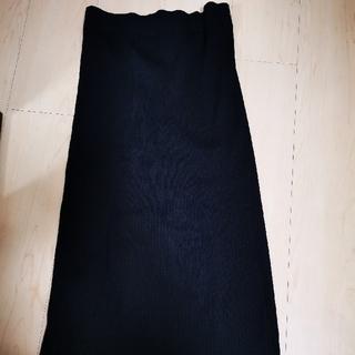 ユニクロ メリノブレンドリブスカート(ロングスカート)
