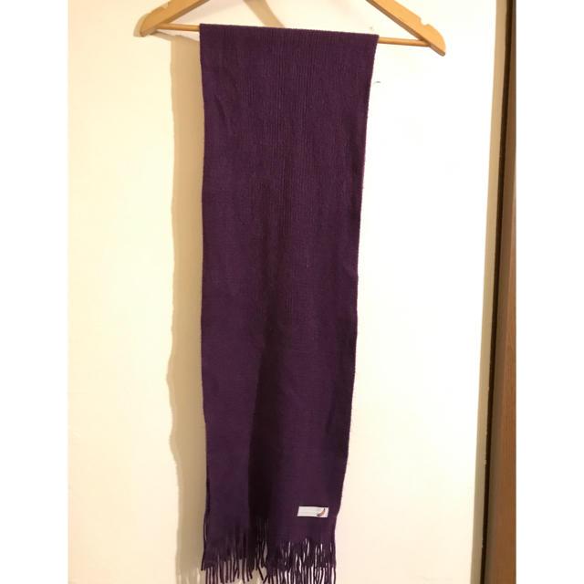 BEAMS(ビームス)のビームス  パープル マフラー レディースのファッション小物(マフラー/ショール)の商品写真