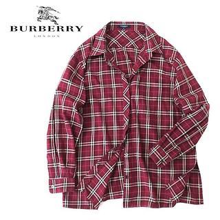 バーバリー(BURBERRY)の大きいサイズ◎国内正規 BURBERRY LONDON ノバチェックシャツ(シャツ/ブラウス(長袖/七分))