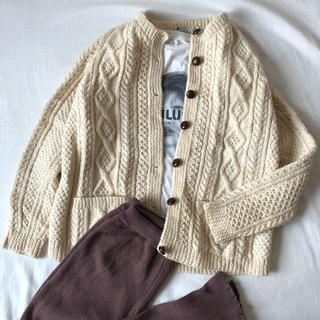 EDIT.FOR LULU - vintage cable knit cardigan🐑🧶