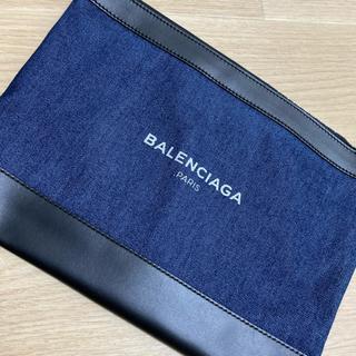 バレンシアガ(Balenciaga)のバレンシアガ デニムクラッチ☺︎(セカンドバッグ/クラッチバッグ)
