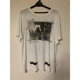 OFF-WHITE - off-white Tシャツ Mサイズ 国内正規品 イーストランドタグ付き