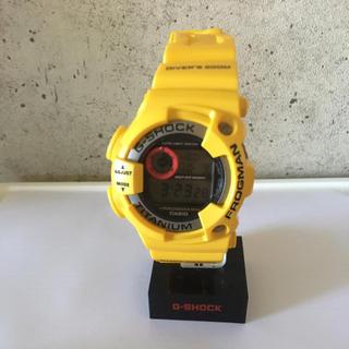 ジーショック(G-SHOCK)のG-SHOCK フロッグマン 赤目 イエロー(腕時計(デジタル))
