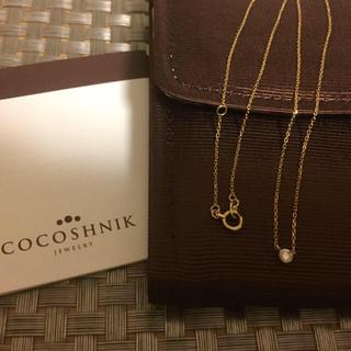 COCOSHNIK - ★ ココシュニック  一粒ダイヤネックレス ★