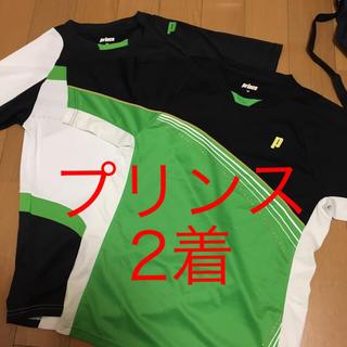 Prince - 2着 プリンス prince バドミントン テニス ユニフォーム ゲームシャツ