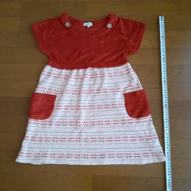 3can4on(サンカンシオン)のワンピース  チュニック キッズ/ベビー/マタニティのキッズ服 女の子用(90cm~)(ワンピース)の商品写真