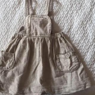 Caramel baby&child  - yoli&otis リネンエプロンワンピース スカート 3y