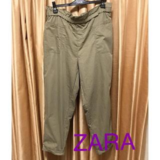 ザラ(ZARA)のZARA 薄手 パンツ★大きいサイズ(カジュアルパンツ)