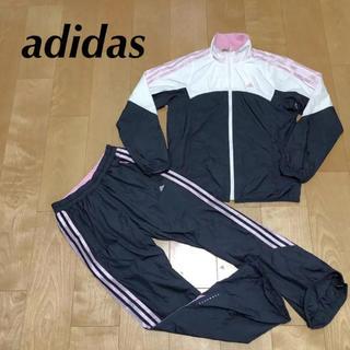 adidas - ★ adidas アディダス レディース ジャージ 上下 上M 下S ナイロン