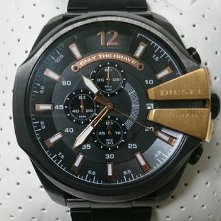 DIESEL - 美品 電池新品 dz4309 ディーゼル腕時計