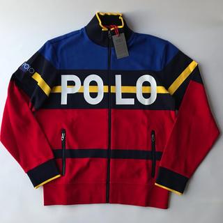 ポロラルフローレン(POLO RALPH LAUREN)の新品 POLO  ポロ ラルフローレン ジップアップ スウェット ジャケット M(ジャージ)