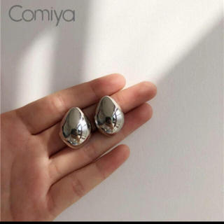 BEAUTY&YOUTH UNITED ARROWS - 大人気なため再入荷!tear drop ring silverピアス