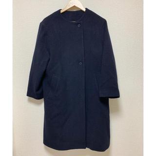 ムジルシリョウヒン(MUJI (無印良品))のノーカラーコート(ノーカラージャケット)