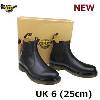 ドクターマーチン(Dr.Martens)のDr.Martens チェルシー UK6 サイドゴア ブーツ 黒 くろ(ブーツ)