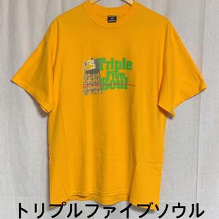 トリプルファイブソウル(555SOUL)の美品 トリプルファイブソウル 半袖プリントTシャツ ビッグシルエット(Tシャツ/カットソー(半袖/袖なし))