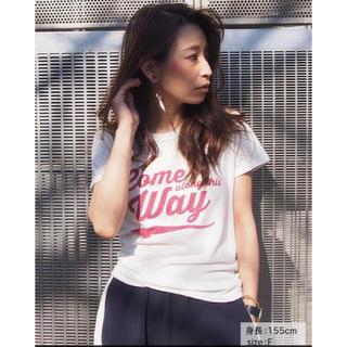 アングリッド(Ungrid)のungrid   Come WayプリントTee  新品(Tシャツ(半袖/袖なし))