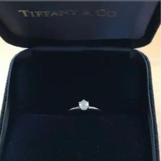 ティファニー(Tiffany & Co.)の(超美品)0.27カラット‼TIFFANY&Co.エンゲージリング‼(リング(指輪))