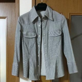 ニジュウサンク(23区)のONWARD樫山☆ストライプシャツ(シャツ/ブラウス(長袖/七分))