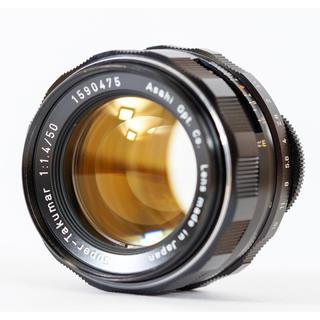 PENTAX - 8枚玉 スーパータクマー Super Takumar 50mm f1.4 清掃済