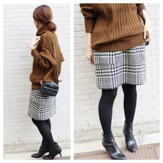 IENA - IENA ツィード台形スカート
