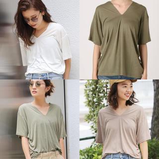 アングリッド(Ungrid)のungrid スリットネックTee 3色セット(Tシャツ(半袖/袖なし))