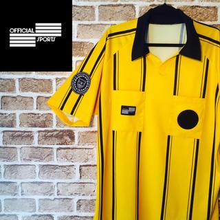 【レア】U.S.soccerサッカー☆ワンポイントロゴ半袖ラガーポロシャツ(ポロシャツ)