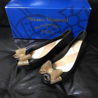 ヴィヴィアンウエストウッド(Vivienne Westwood)の箱付き フラットシューズ ヴィヴィアン ウエストウッド(その他)