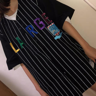 エクストララージ(XLARGE)のXLARGE ベースボールシャツ(Tシャツ/カットソー(半袖/袖なし))