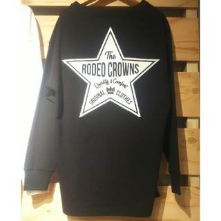 ロデオクラウンズワイドボウル(RODEO CROWNS WIDE BOWL)のテラ松 ブラック ロンT(Tシャツ(長袖/七分))