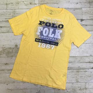 ポロラルフローレン(POLO RALPH LAUREN)のPolo Ralph Lauren イエロー半袖Tシャツ XL(Tシャツ/カットソー(半袖/袖なし))