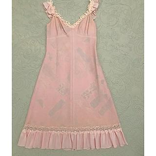 ジーザスディアマンテ(JESUS DIAMANTE)のJESUS DIAMANTE  ワンピース  ピンク  ドレス(ひざ丈ワンピース)