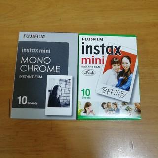 富士フイルム - instax mini film チェキミニモノクロフィルム60枚