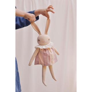 ボンポワン(Bonpoint)のポルカドットクラブ polka dot club Medium Rabbit(ぬいぐるみ/人形)