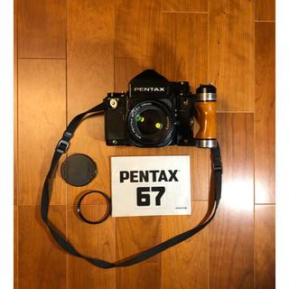 PENTAX - 極上美品 PENTAX 67 TTL SMC 105mm f2.4 木製グリップ