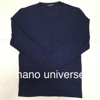 ナノユニバース(nano・universe)の値下げ❗超美品❗nano universe カットソー 送料込み(Tシャツ/カットソー(七分/長袖))