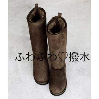 コーエン(coen)の新品♡ムートン調の暖かなエコファーブーツ   BLACK、ブラウン 大特価(ブーツ)