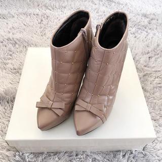 ストロベリーフィールズ(STRAWBERRY-FIELDS)のストロベリーフィールズ ショートブーツ(ブーツ)