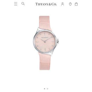 ティファニー(Tiffany & Co.)のティファニーTiffanyメトロ腕時計2-ハンド28mmピンクウォッチ(腕時計)