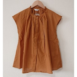 サマンサモスモス(SM2)の[新品] SMblue 衿フリルブラウス(シャツ/ブラウス(半袖/袖なし))