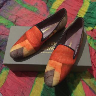 Vivienne Westwood - Vivienne Westwood unionjack shoes