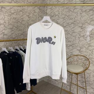 ディオール(Dior)の大人気美品☆Dior X Kaws 刺繍パーカー 男女兼用(トレーナー/スウェット)