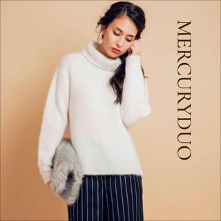 MERCURYDUO - マーキュリーデュオ オフタートルニット♡ ロディスポット ダズリン snidel