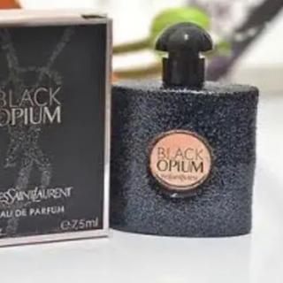 イヴサンローランボーテ(Yves Saint Laurent Beaute)の在庫限り YSL 【海外限定】 BLACK OPIUM 7.5ml(香水(女性用))