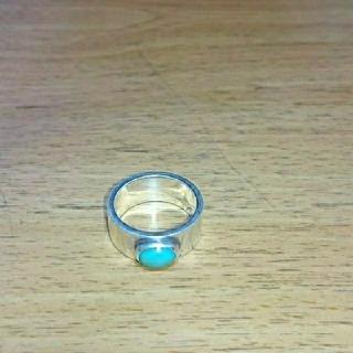 goro's - goro's ゴローズ  平打ちリング リング 指輪 ターコイズ