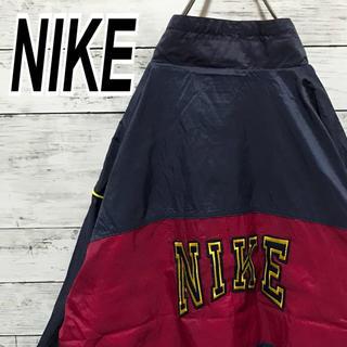 ナイキ(NIKE)のナイキ 90s ナイロン バックロゴ レアカラー ビッグサイズ 送料無料 希少(ナイロンジャケット)