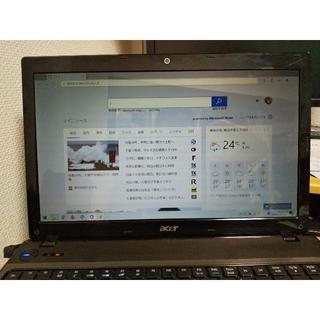 エイサー(Acer)のAcer Aspire 5741AS5741-N32C/KF交換部品液晶パネル(ノートPC)